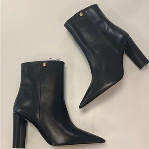 NWT Tory Burch Penelope Black Pointed Toe Bootie